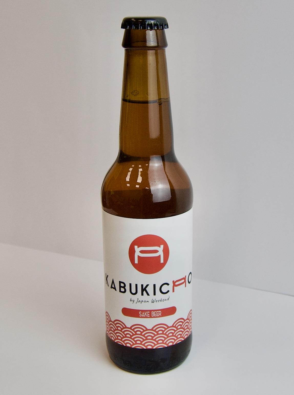 Cerveza artesana Kabukicho (+18) – Botellín Logo
