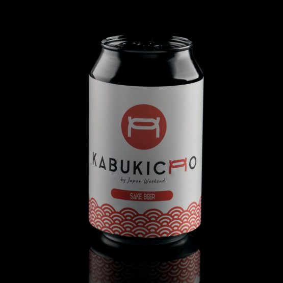 Cerveza artesana Kabukicho (+18) – Lata Logo