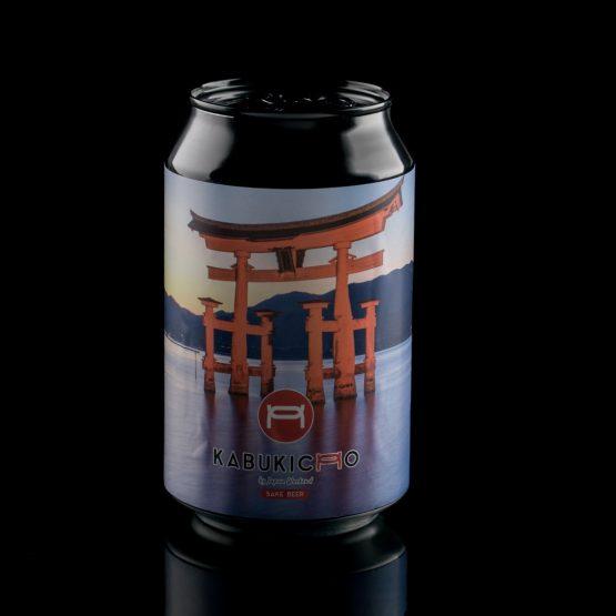 Cerveza artesana Kabukicho (+18) – Lata Torii