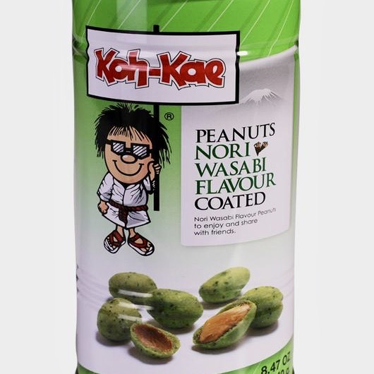 Cacahuetes con wasabi Koh-Kae
