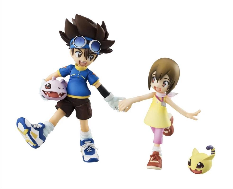 MegaHouse G.E.M. series – DIGIMON Taichi & Hikari & Koromon & Nyaromon