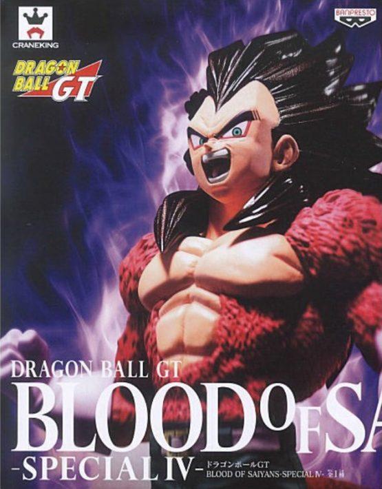 Banpresto Craneking Dragon Ball GT – Blood of Saiyans Special IV