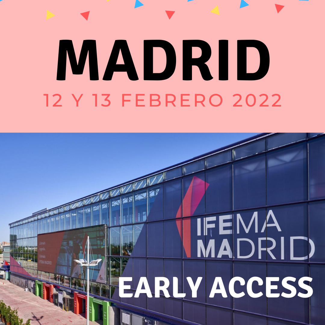 Japan Weekend Madrid – Entrada EARLY ACCESS sábado 12 de febrero 2022 – DAY ZERO
