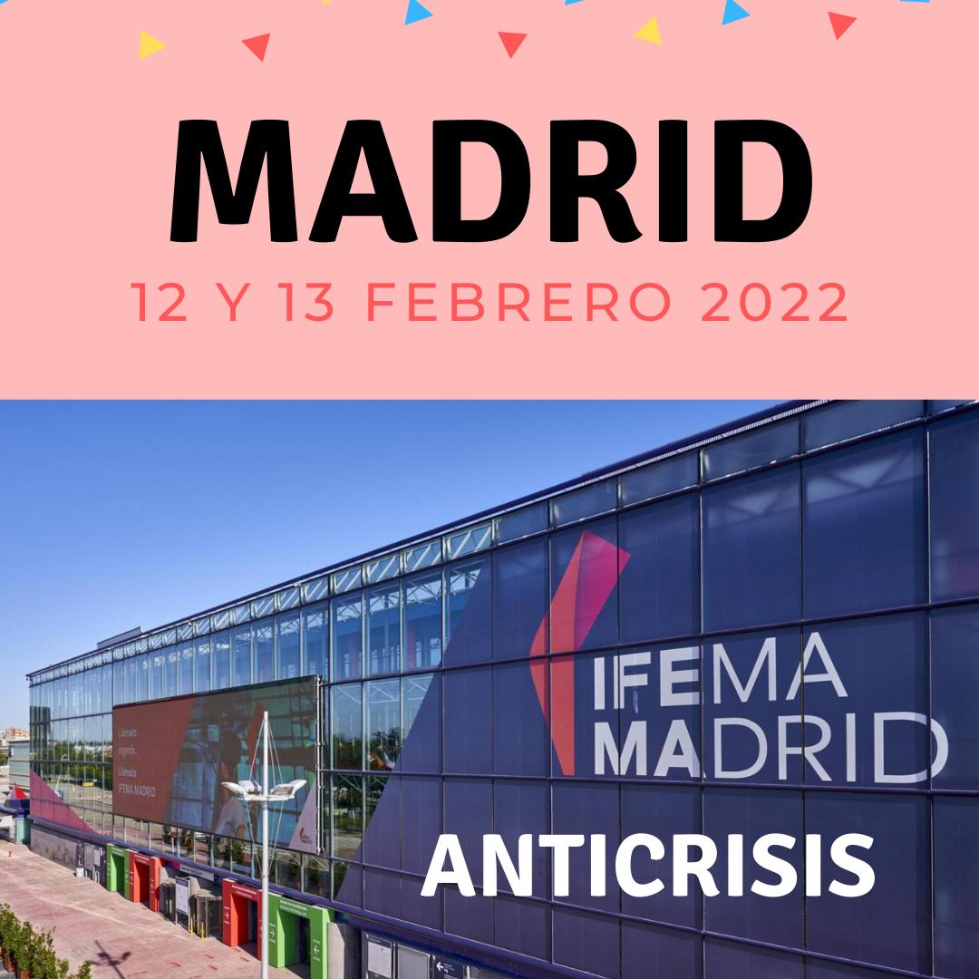 Japan Weekend Madrid – Entrada ANTICRISIS sábado 12 de febrero 2022 – DAY ZERO